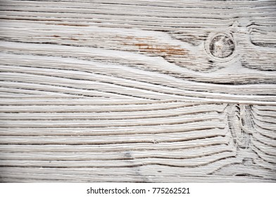 background texture of old wood with knots