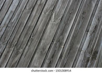 Background texture old wood planks gray color (Fon tekstura staroye derevo doski seryy tsvet) - Shutterstock ID 1501308914
