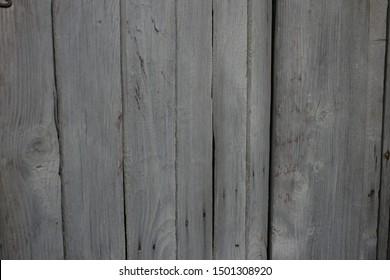 Background texture old wood planks gray color (Fon tekstura staroye derevo doski seryy tsvet) - Shutterstock ID 1501308920
