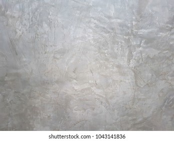 Background and texture on gray walls of polished concrete surfaces.