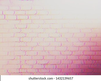 Background, texture, pink, brick wall