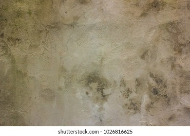 Background texture of poor and dirty  concrete wall from slum building in ghetto district