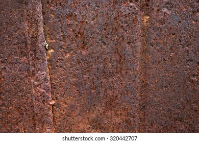 Background texture of Rusted steel