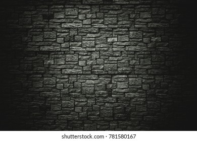 background, texture of a stone wall. dark background for design