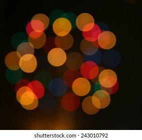 background texture with unfocused lights