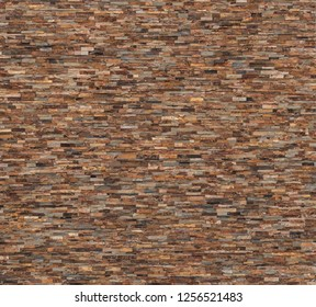 Background and texture of vintage style decorative stone wall