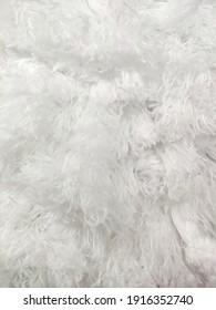background texture white fibers artificial fur white fluff soft