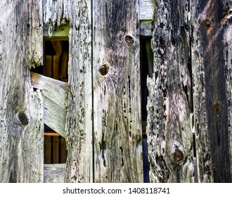 Background texture - wood from 1800s barn