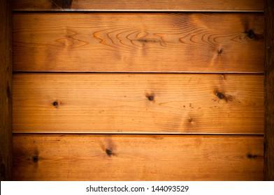 Background texture of wood cedar planks.