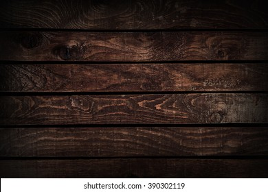Background texture of a wooden table. dark wood texture