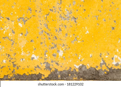 background, texture, yellow grunge wall