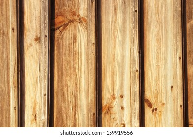 background texture of yellow pine wood board