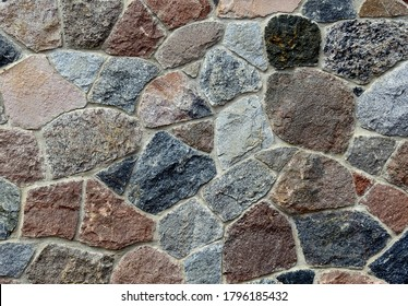 background textures wallpaper made of stone bricks wood and other human products made in Podlasie and Masovia in Poland in July 2020 - Shutterstock ID 1796185432