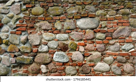 background textures wallpaper made of stone bricks wood and other human products made in Podlasie and Masovia in Poland in July 2020 - Shutterstock ID 1796185441