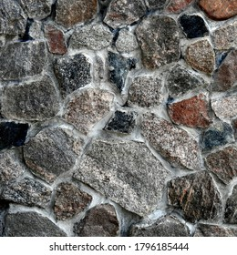 background textures wallpaper made of stone bricks wood and other human products made in Podlasie and Masovia in Poland in July 2020 - Shutterstock ID 1796185444