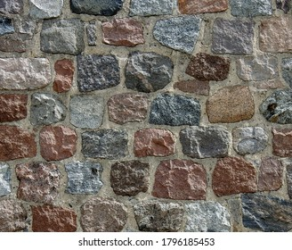background textures wallpaper made of stone bricks wood and other human products made in Podlasie and Masovia in Poland in July 2020 - Shutterstock ID 1796185453