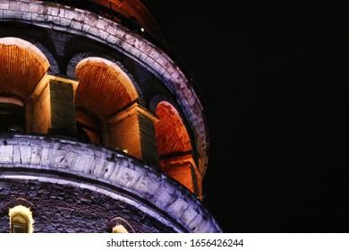 background tower galatatower symbol light