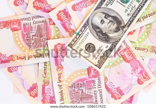 Background Twenty Five Thousand Iraqi Dinar Stock Photo (Edit Now