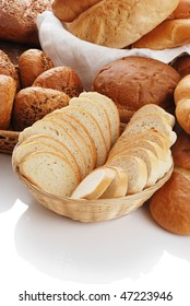 Background from various bread