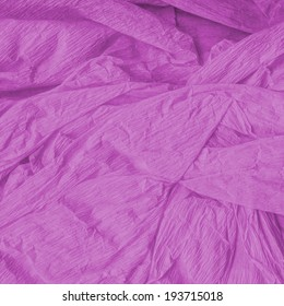 background of violet crumpled paper