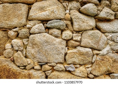background wall with exposed stone