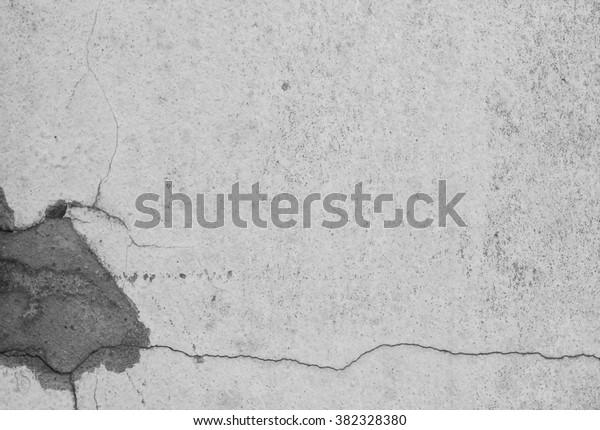 Background Wallpaper Broken Wall Black White Stock Photo