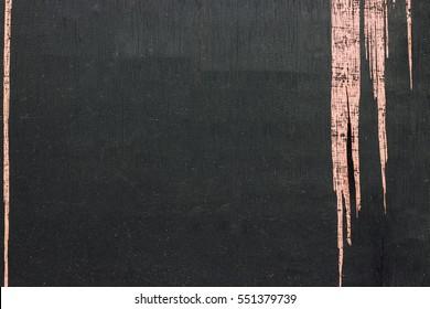 Background/ wallpaper - peeling wood panel painted black.
