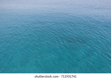 Background. Waters ripple. Surroundings of the island of Crete, Greece.