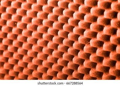Background with wavy sponge