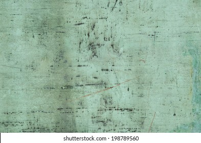 Background of weathered and oxidised copper surface