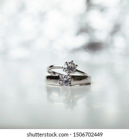 Background of the wedding ring