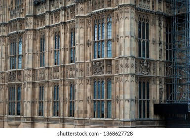 The background of Westminster Palace.
