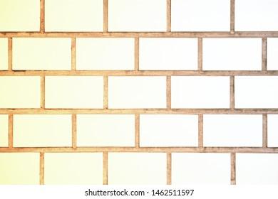 Background of white brick, white brick tile wallpaper.
