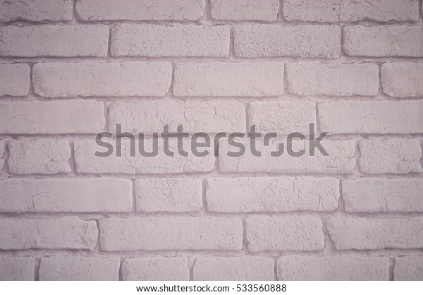 Background white brick wallpaper.