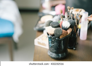 background white makeup cosmetics