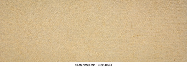 background of white natural handmade paper created  by Mayan artisans throughout the Yucatan Peninsula of Mexico, long banner