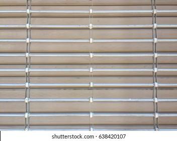 Background of whitish metallic blind