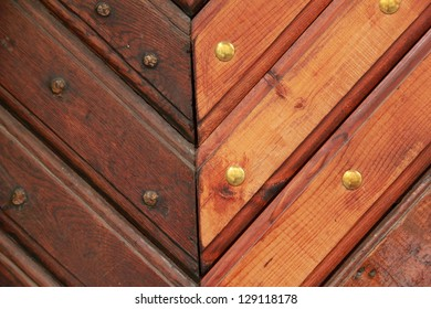 Background of wood light brown and brown