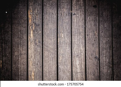 Background of wooden board with center soft light