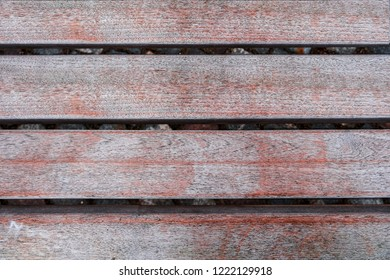 Background of wooden boards with slits.