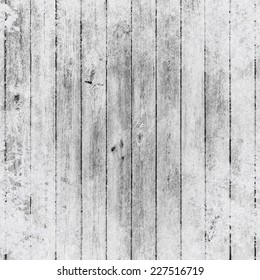 Background of wooden boards in snow