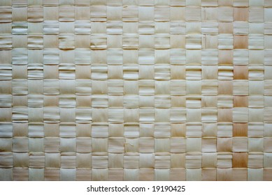 background of woven Chinese bamboo mat