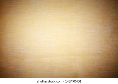 Background of yellow fabric