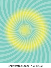 Background with yellow and green stripes.