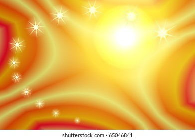 Background yellow stars