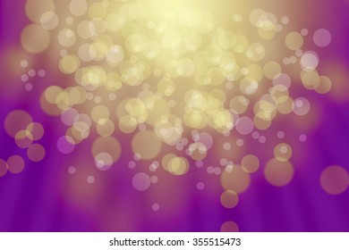 background yellow and violet bokeh