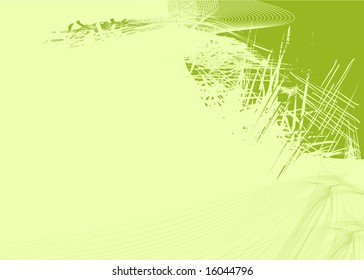 Backgrounds on abstract and grunge elements with ornament shapes