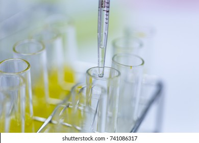 Backgrounds of Science research and Chemical in laboratory.