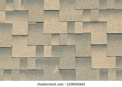 Backgrounds and textures concept. Abrasive texture roofing material close-up. Abstract granular background