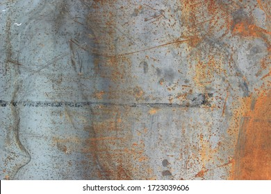 Backgrounds and textures concept.Blurred gray rusty grunge metal texture with Instagram style filter. Vintage effect.